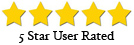 5 Star user rated
